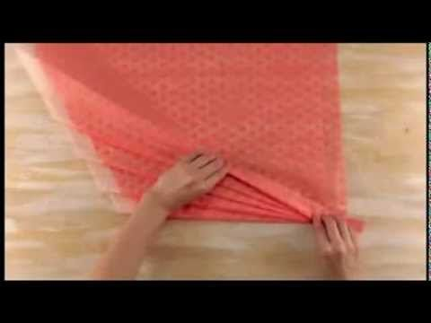 Цветочная упаковка - YouTube