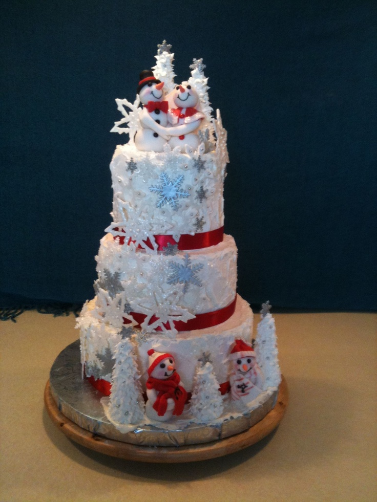 61 Best images about Winter theme cakes on Pinterest ...