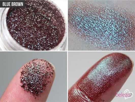 MAC pigment: Blue Brown | LUUUX