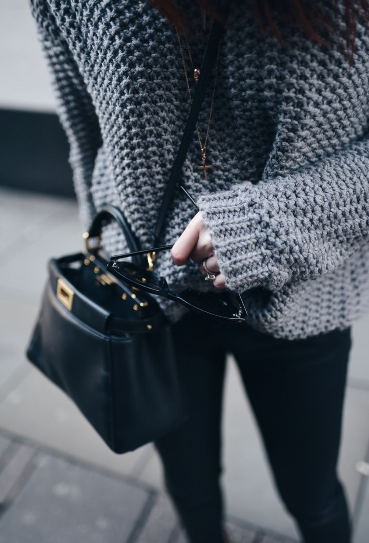 chunky knit @lornaluxe