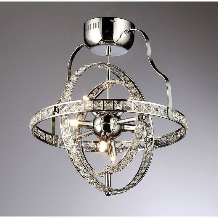 unique chandelier lighting. reminiscent of an armillary sphere that models planetary orbits this unique chandelier glitters with crystals lighting