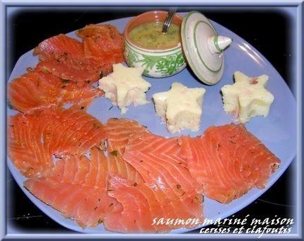 saumon gravlax et sa sauce moutarde norvégienne