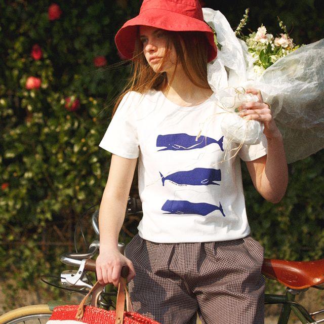 『CLUÉL & LA MARINE FRANÇAISE 〜フランスからの贈りもの展〜』開催中!! . . こんな天気の良い日は、お買い物に出かけてみませんか? . . 《マリン フランセーズ》とCLUÉLのフェアが昨日から開催中です! . . 最新号にも掲載されているフランスのステーショナリーブランド「ムッシュー・パピエ」とのコラボTシャツをはじめおすすめの新作と共に、CLUÉL編集部とマリン フランセーズがパリで見つけた可愛い雑貨が並んでいます。 . . 詳細はこちらからどうぞ! https://press.innocent.co.jp/  #lamarinefrancaise #マリンフランセーズ #cluel #クルーエル #フランス #フェア