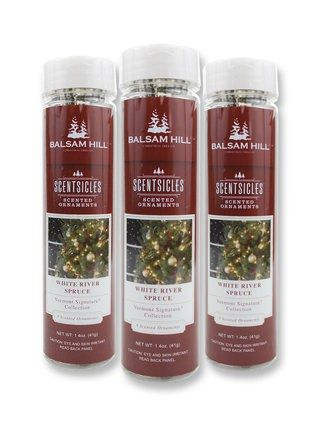 White River Spruce Christmas Scented Stick: Holiday, Tree, Ornaments Mybalsamhillhome, Scented Ornaments, Balsamhill Contest, Scented Christmas, Spruce Scented, Christmas Ornament