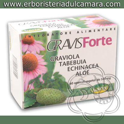 GravisForte Compresse: Composto a Base di Graviola, Tabebuja, Echinacea ed Aloe