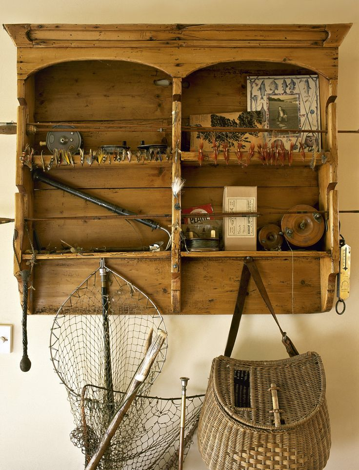 Fishing Tackle design ideas and photos to inspire your next home decor project or remodel. Check out Fishing Tackle photo galleries full of ideas for your home, apartment or office.