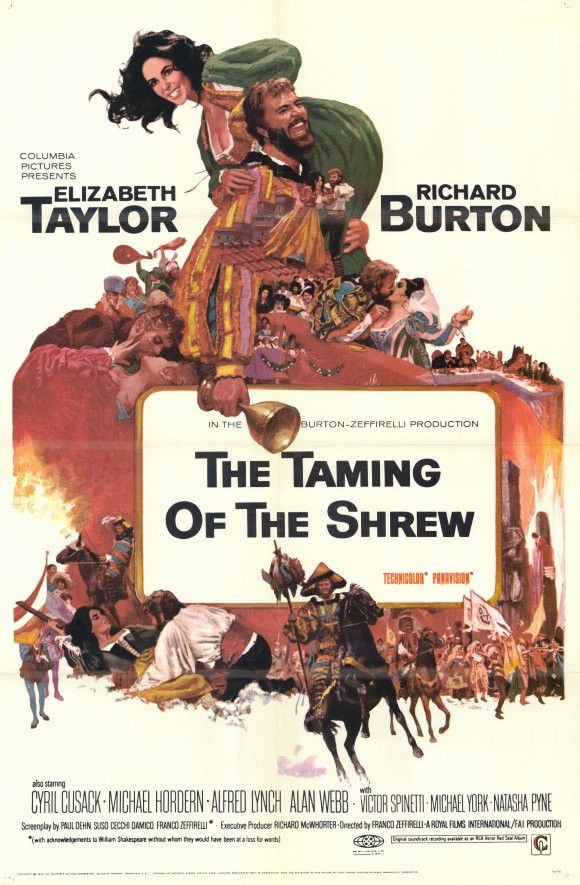 The Taming of the Shrew 11x17 Movie Poster (1967)