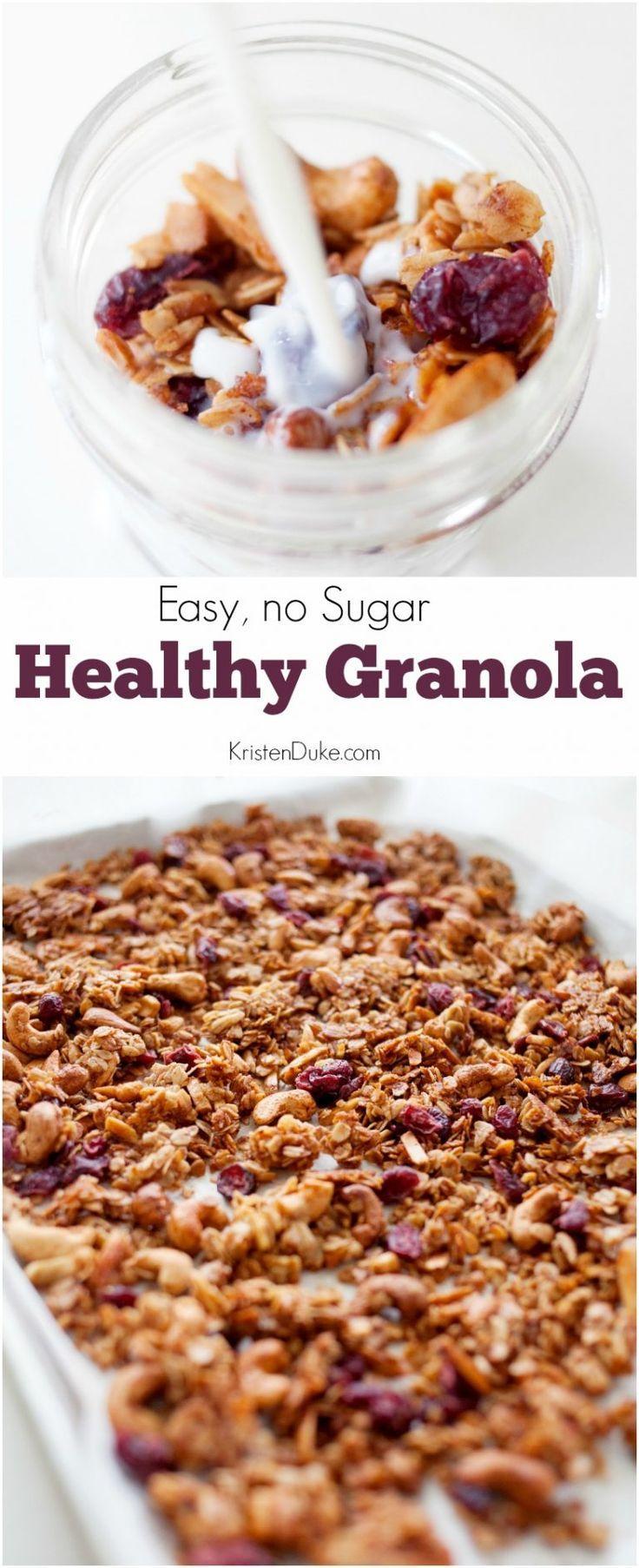 Healthy Granola Recipe All Time Favorite Recipes Granola