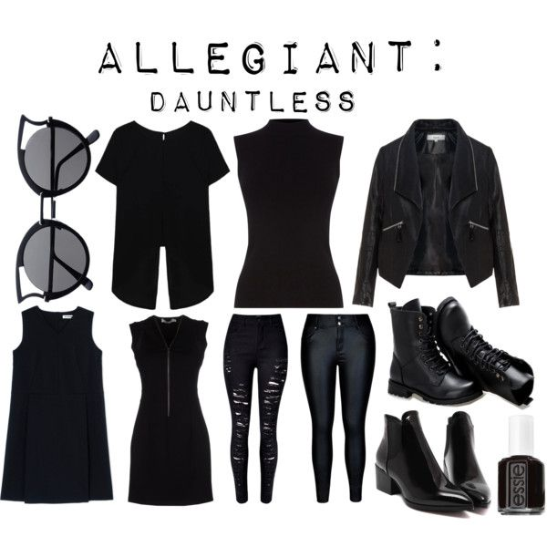 Allegiant: Dauntless by thenerdygirlie on Polyvore featuring Jil Sander, Oasis, Zizzi, City Chic, Sunsteps and Essie