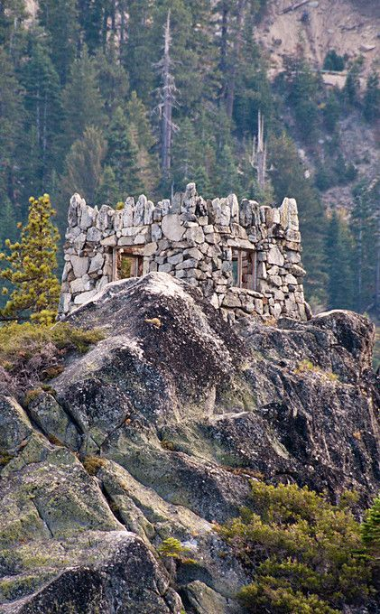 Fannette Island - Lake Tahoe | Travel | Vacation Ideas | Road Trip | Places to Visit | South Lake Tahoe | CA | Boating Activity | Hiking Trailhead | Hiking Area | Abandoned Place | Island