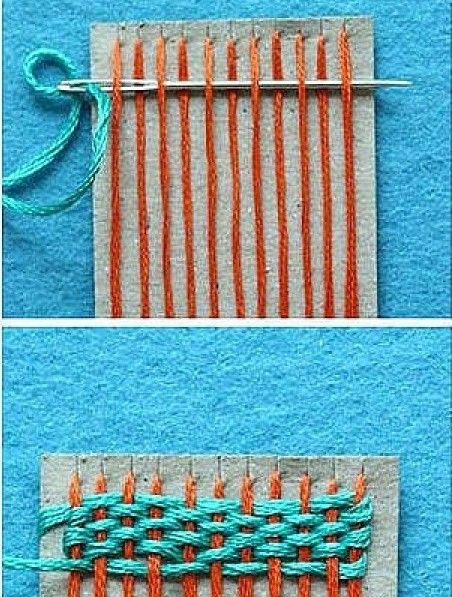 Weven: Techniek om textiel te maken met behulp van twee soorten draden.