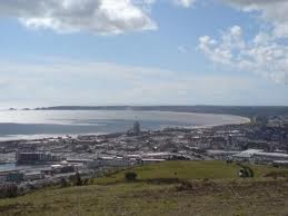 Kilvey Hill is located to the east of Swansea and offers wonderful views across the city.