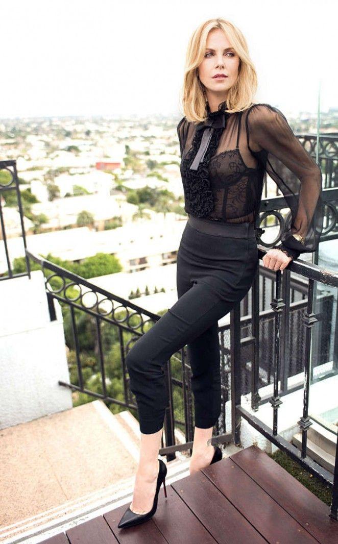 Charlize Theron by Jeff Vespa Photoshoot 2015.