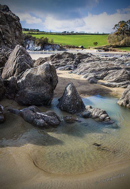 Meadowsfoot Beach, Torquay, Devon, England