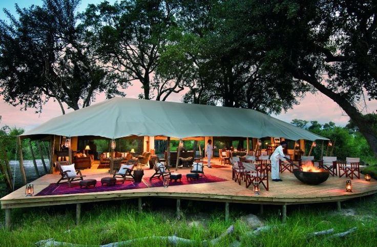 The exclusive six-tent Duba Expedition Camp lies in the heart of the Okavango Delta. The matrix of palm-dotted islands, floodplains & woodlands is a wildlife connoisseur's dream. With live availability, CAT is the only site where you can get an instant quote & book this Great Plains property 100% online, or speak to one of our expert consultants