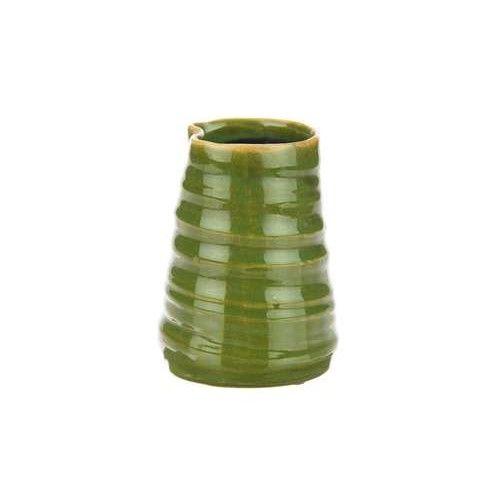 Vaasje Arbaz 10x13 cm verkrijgbaar in de kleuren Olijf groen, Blauwgroen