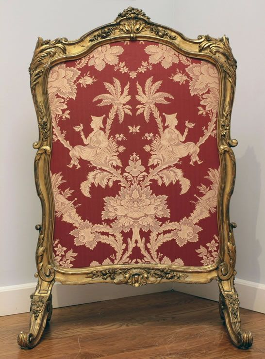 618 best paravents fireplace screens chenets images on - Meubles louis xv ...