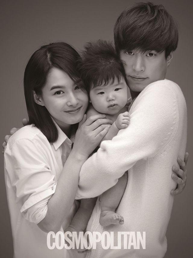 Tablo & Kang Hye Jung Adorable Baby Pics! - DramaFever Blog