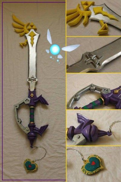 A Legend of Zelda Keyblade.