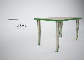 TWICE Tavolo1, Tavolo2 designer Pasquale Alison