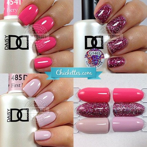 Daisy Duo Gel Polish Swatches By Chickettes Com Nail