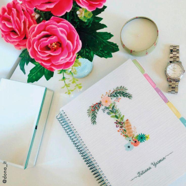 Programe-se e não deixe que nenhum momento passe em branco... #meudailyplanner #dailyplanner #plannergeek #lifeplanner