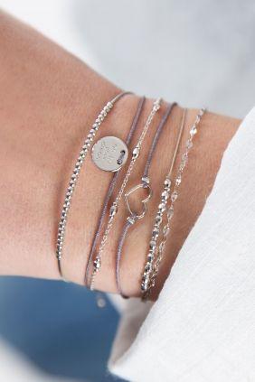 armband combination true love herz anthrazit schmuck online kaufen