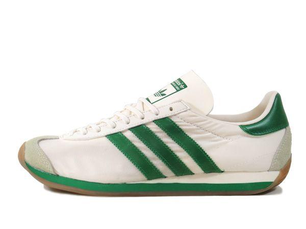 adidas COUNTRY OG WHITE/GREEN/CREAM WHITE 【adidas Originals】