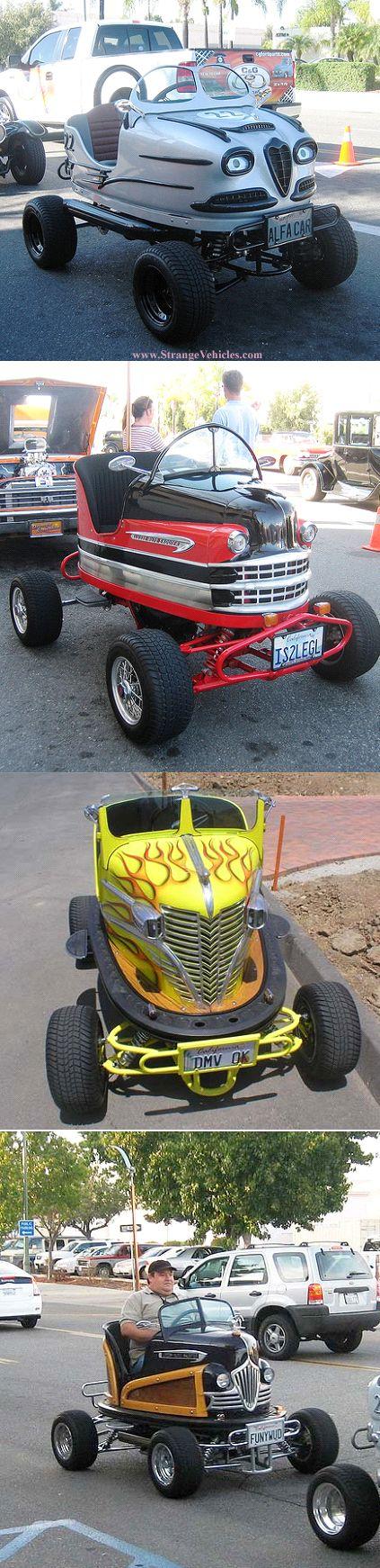 Bad Boy Toys : Strange street legal bumper cars trucks etc