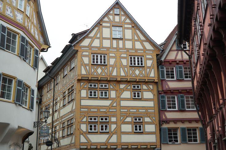 Fachwerkhäuser Esslingen Old Town Truss – Cornelia Gramescu
