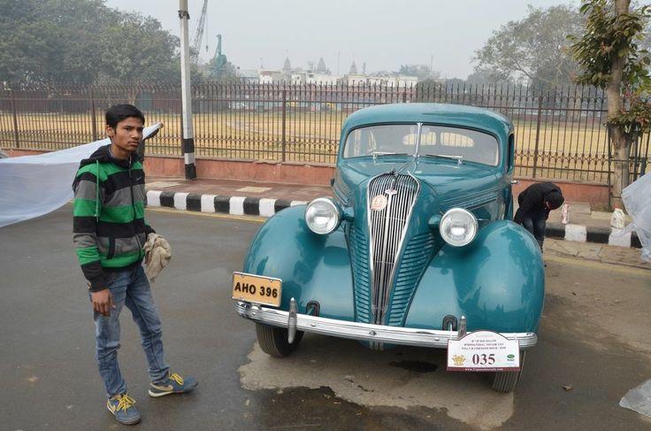 21 Gun Salute Rally - a Classic Car Event in New Delhi, India