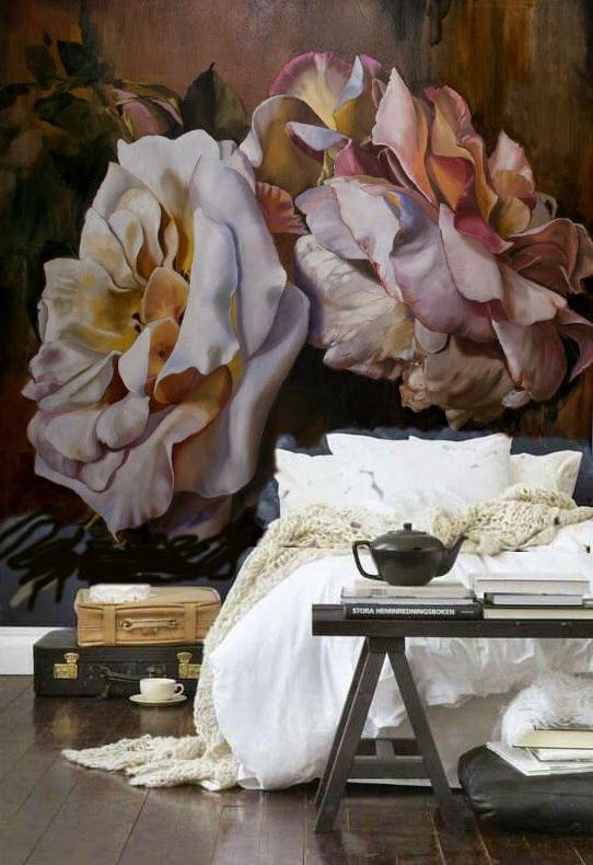 NEUTRAL HEAVEN - Interior Design and Mood Creation: Dreaming of Roses - Artist / Bedroom