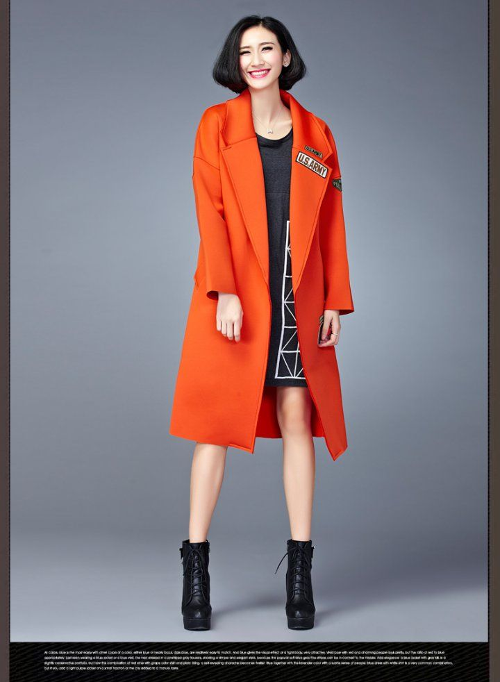 CW13533 Space cotton European style fashion coat for women