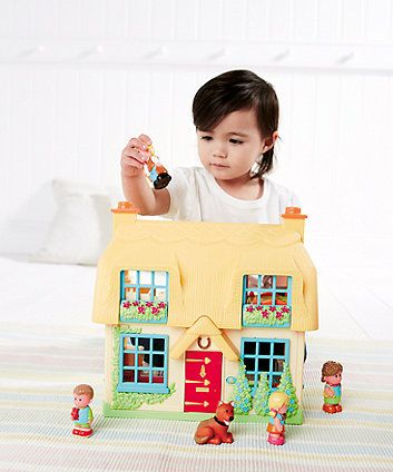 Happyland Rose Cottage | baby imaginative play | Mothercare