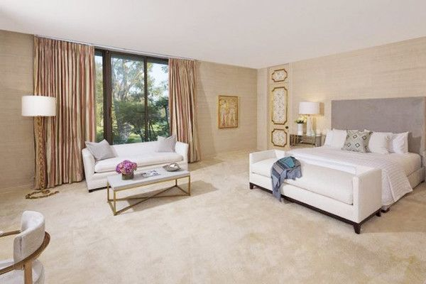 Master Suite: The large master bedroom is about to get a star worthy makeover - Adam Levine & Behati Prinsloo's New $18 Million L.A. Estate - Photos