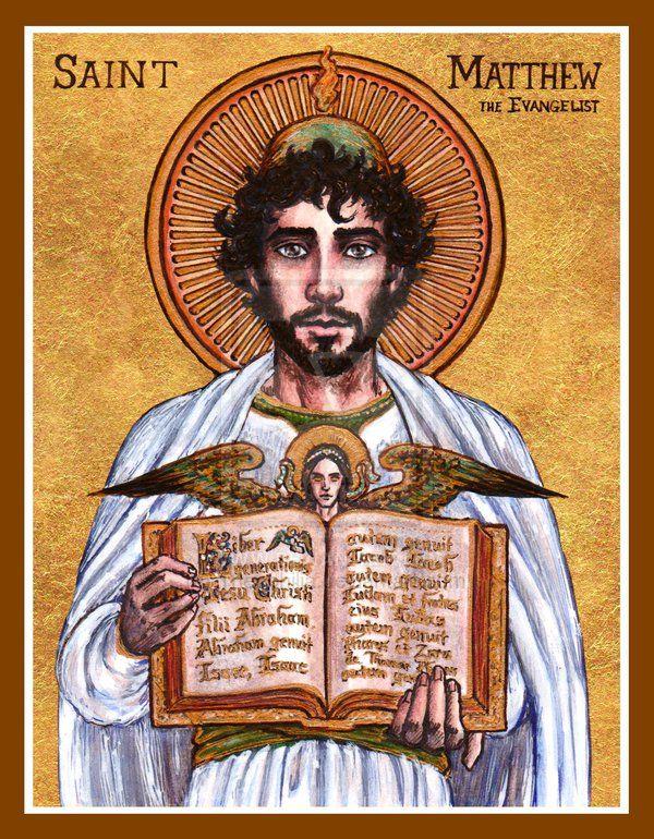 St. Matthew icon by Theophilia.deviantart.com on @DeviantArt