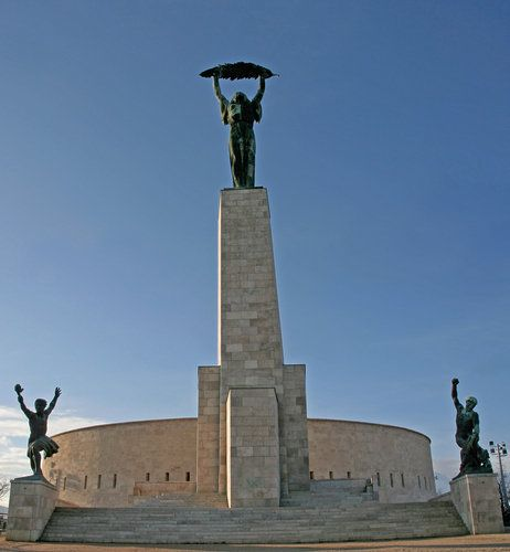 The Liberation Monument on Gellért Hill.