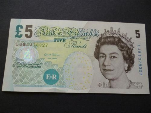 Five Pound Note: English   eBay