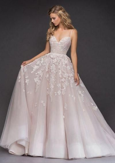 beautiful wedding ceremony attractive luxurious night appliques Night beautiful attractive Marriage ceremony Costume Inspiration – Hayley Paige spaghetti bridal costume