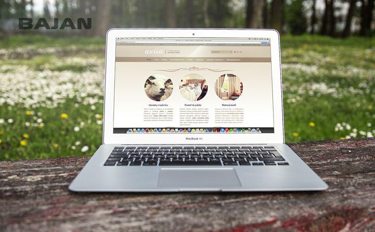 S nežným dotykom jemnosti a kvality sa spája práve spoločnosť Axiia, ktorá ponúka na predaj výrobky z kašmíru. Presne v takomto poňatí sme navrhovali design webu. Pozrite si ho online na www.axiia.eu :)