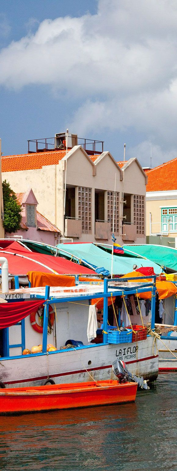 Floating Market in Willemstad - Curacao -ABC Islands
