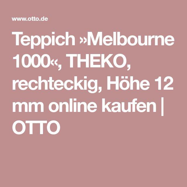 Teppich »Melbourne 1000«, THEKO, rechteckig, Höhe 12 mm online kaufen   OTTO