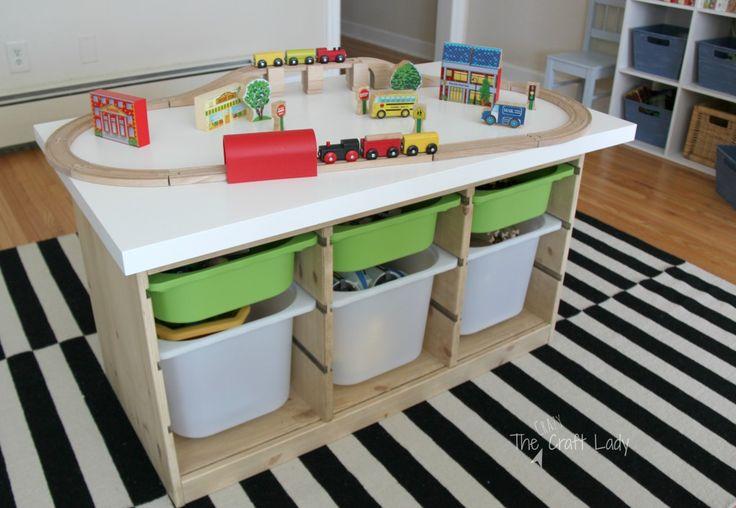 die besten 25 train table ikea ideen auf pinterest ikea. Black Bedroom Furniture Sets. Home Design Ideas