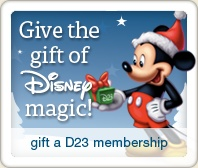 I've always wanted a D23 membership!! One day!!