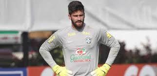 Alisson, goleiro do Internacional e da seleção Brasileira em 2015.