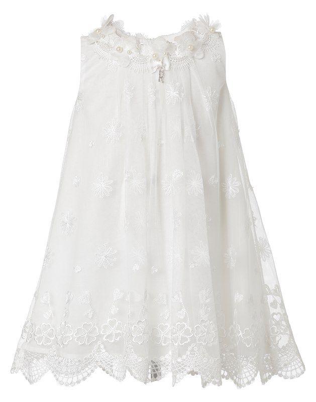 Δείτε την νέα συλλογή με βαπτιστικά ρούχα για κοριτσάκια. Μεγάλη ποικιλία σε φορέματα, καπέλα, μπολερό και παπουτσάκια