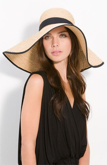 Spring = more time outdoors. Protect your skin with a great straw hat.