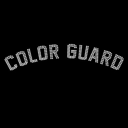 Amazon.com: Color Guard Iron On Rhinestone Crystal T-shirt Transfer:
