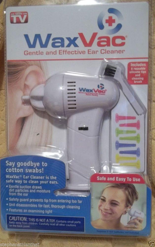 Original WaxVac Ear Cleaner Wax Remover VAC Seen on TV ... Ear Wax Removal As Seen On Tv
