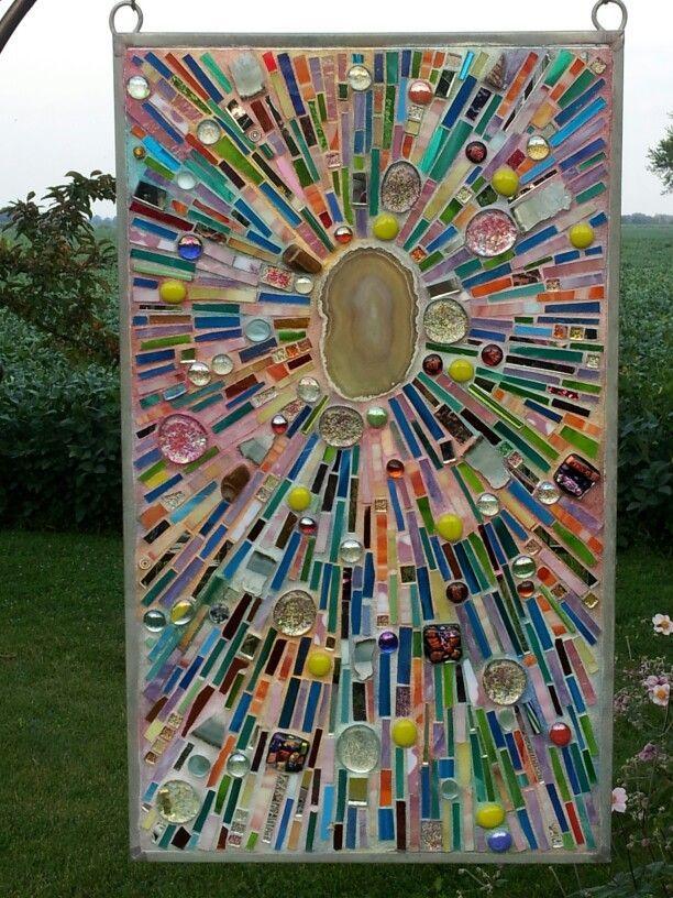 3800 best mosaic inspiration images on pinterest for Mosaic landscape design